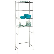 4-Tier Over-The-Toilet Shelving Unit