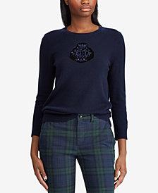 Lauren Ralph Lauren Petite Crest Sweater