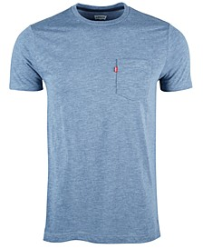 Men's Heathered Pocket T-Shirt