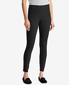Lauren Ralph Lauren Petite Ponté-Knit Skinny Pants