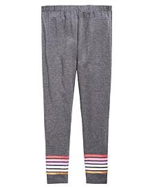 Epic Threads Big Girls Border Stripe Leggings, Created for Macy's