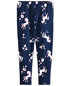 Epic Threads Toddler Girls Unicorn-Print Leggings, Created for Macy's