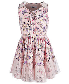Epic Threads Toddler Girls Butterfly Ruffle Dress, Created for Macy's