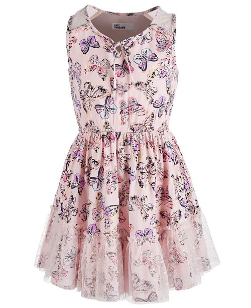 307c7e93f56e ... Epic Threads Little Girls Butterfly-Print Dress