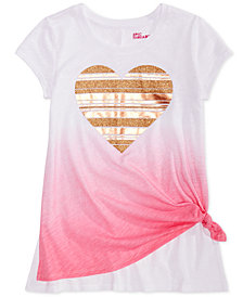 Epic Threads Big Girls Graphic-Print Ombré T-Shirt, Created for Macy's