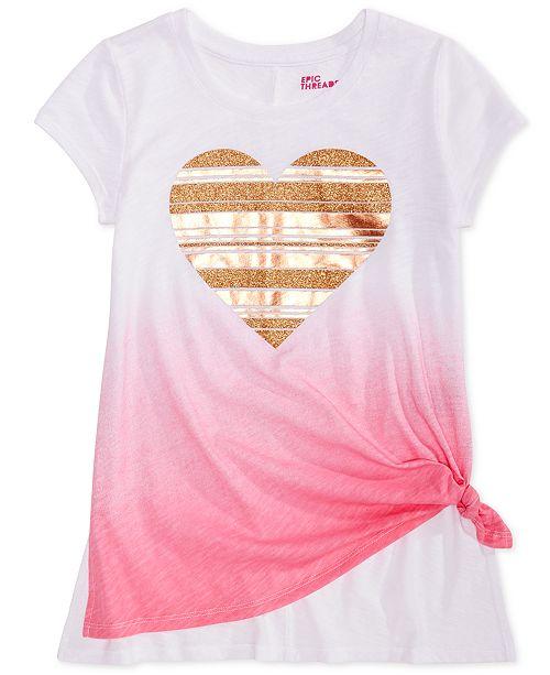 29a2054e465b Epic Threads Big Girls Graphic-Print Ombr eacute  T-Shirt