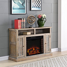 Eastford Fireplace TV Stand, Quick Ship