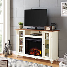 Chelmsford Fireplace TV Stand, Quick Ship