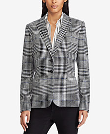 Lauren Ralph Lauren Glen Plaid Blazer