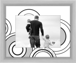 Living 31 Love in Circles decorative Photo Frame