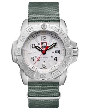 Men's 3257 Navy Seal Stainless Green Nylon Strap Watch