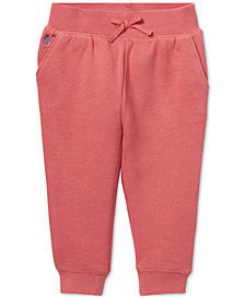 Polo Ralph Lauren Baby Girls Fleece Jogger Pants