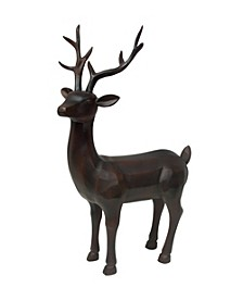 Poly Standing Reindeer