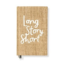 Kate Spade New York Word To The Wise Journal, Long Story Short Grasscloth