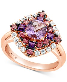 Le Vian® Multi-Gemstone Ring (1-3/4 ct. t.w.) in 14k Rose Gold