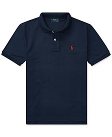 Polo Ralph Lauren Big Boys Pique Polo