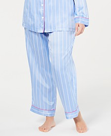 Charter Club Plus Size Pajama Pants, Created for Macy's