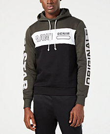 G-Star RAW Men's Logo Colorblocked Hoodie, Created for Macy's