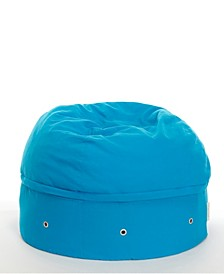 Comfy Cotton Beanbag Chair with Storage