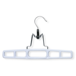 Honey Can Do 12-Pc. Plastic Pant Hangers with Clamp