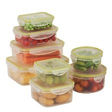Honey Can Do Locking 16-Pc. Food Storage Set