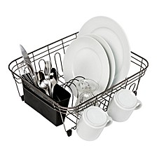 Wire Dish Rack, Black
