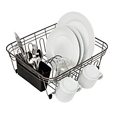 Honey Can Do Wire Dish Rack, Black