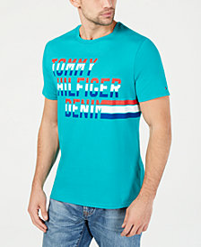 Tommy Hilfiger Denim Men's Vance Logo Graphic T-Shirt, Created for Macy's