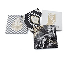 Purdue University Spirit Coasters, Set of 4