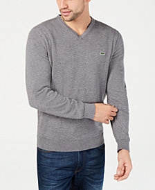 Lacoste Men's V-Neck Sweater, Created for Macy's