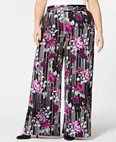 9ad5678fb74dd Buy Plus Size Wide Leg Pants  Shop Buy Plus Size Wide Leg Pants - Macy s