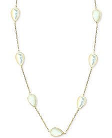 "EFFY® Mother-of-Pearl 16-1/2"" Collar Necklace in 14k Gold"