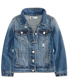 Epic Threads Big Girls Cotton Denim Jacket, Created for Macy's