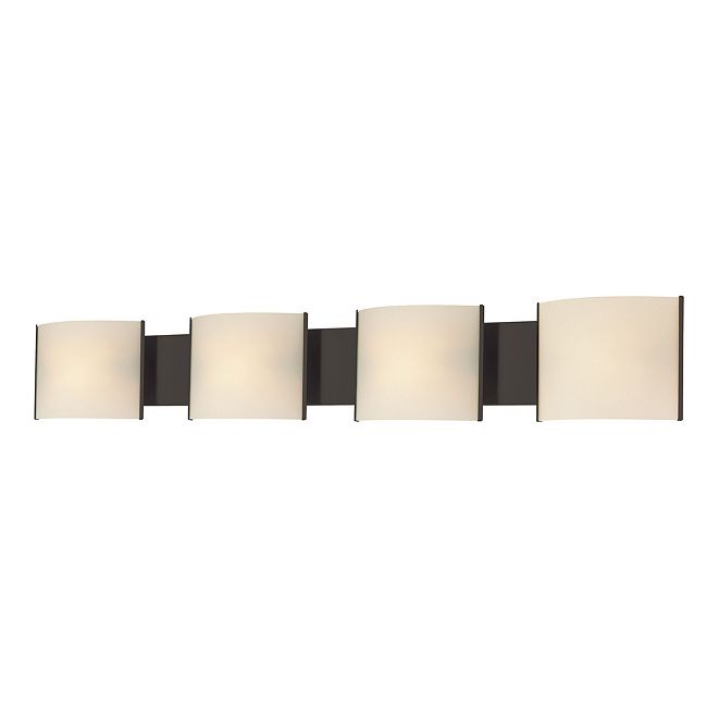 ELK Lighting Pannelli 4 Light Orb With White Opal Glass