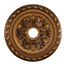 "Corinthian Medallion 22"" in Antique Bronze Finish"