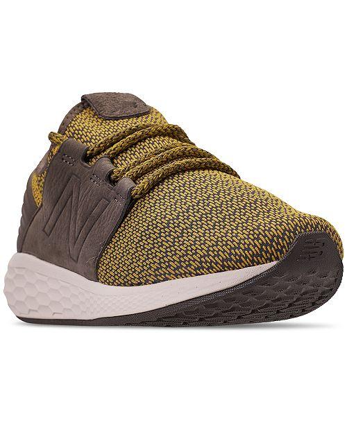 8c0fd1c667615 ... New Balance Men's Fresh Foam Cruz Running Sneakers from Finish ...