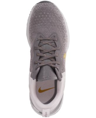 new style 9a6b6 52034 Women s Odyssey React Metallic Premium Running Sneakers from Finish Line