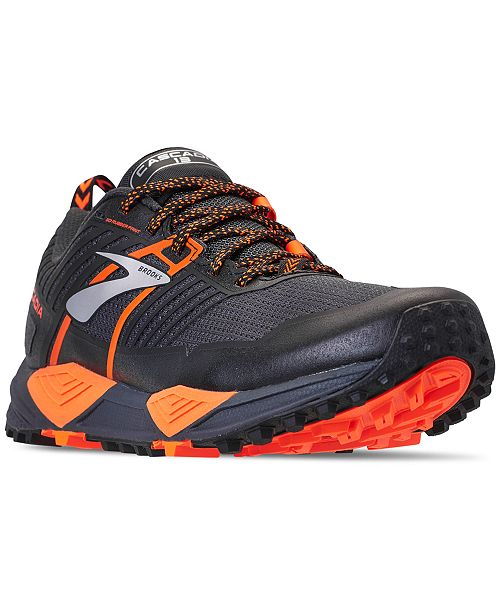 a755a5f7d2d Brooks Men s Cascadia 13 Trail Running Sneakers from Finish Line ...