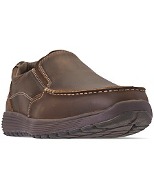 Skechers Men's Venick Perlo Wide Width Slip-On Dress Casual Sneakers from Finish Line