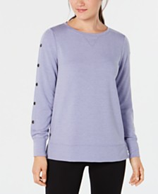 Ideology Snap-Sleeve Top, Created for Macy's