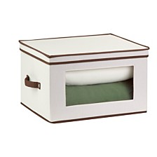 Honey Can Do Tall Window Storage Chest