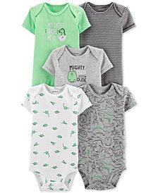 Carter's Baby Boys 5-Pk. Dinosaur Bodysuits