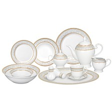 Giada 57-PC Dinnerware Set, Service for 8