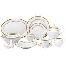 Josephine 57-PC Dinnerware Set, Service for 8