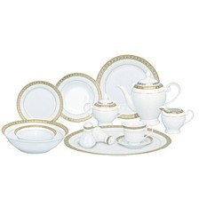 Safora 57-PC Dinnerware Set, Service for 8