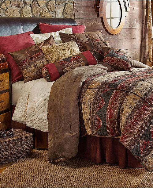 HiEnd Accents Sierra 6-Pc King Comforter Set