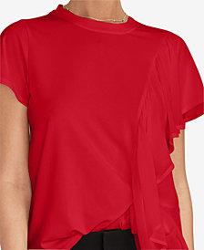 RACHEL Rachel Roy Karlie Asymmetrical Top, Created for Macy's