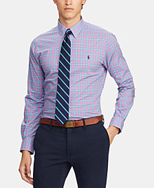 Polo Ralph Lauren Men's Slim Fit Plaid Shirt