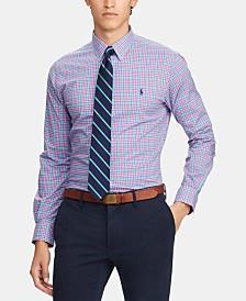 Polo Ralph Lauren Men's Slim Fit Stretch Plaid Shirt