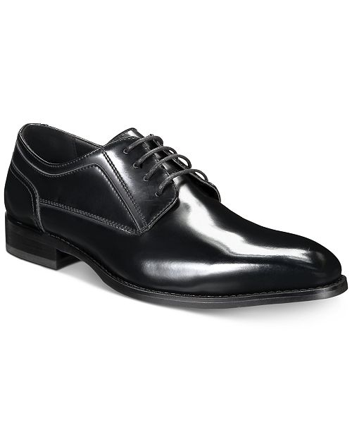 INC International Concepts INC Men's Elliot Plain-Toe Oxfords, Created for Macy's